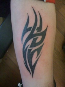 Tribal Tattoos on Forearm