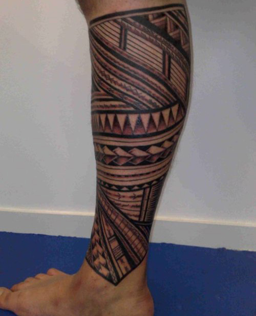 Tattoo Designs Legs: 26 Fascinating Tribal Leg Tattoos