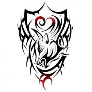 Tribal Taurus Tattoos Designs