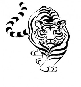 Tribal Tiger Tattoo Ideas