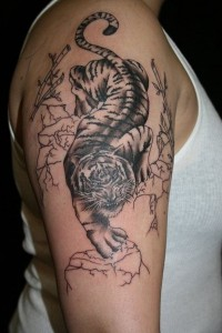 Tribal Tiger Tattoos for Men