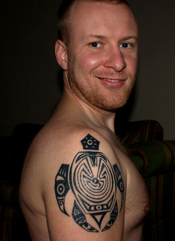 20 awesome tribal turtle tattoos only tribal for Turtle tattoos meaning