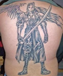 Tribal Warrior Angel Tattoos