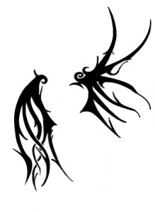 Tribal Wings Tattoo Designs