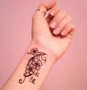 Tribal Wrist Tattoos for Girls