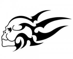 Tribal and Skull Tattoo Designs