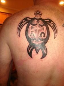 Turtle Tattoos Tribal
