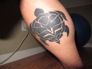 Turtle Tribal Tattoos