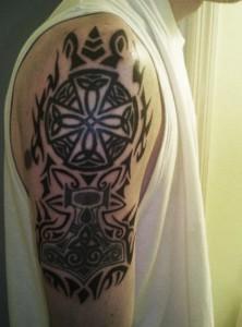 Viking Tribal Tattoos Sleeve