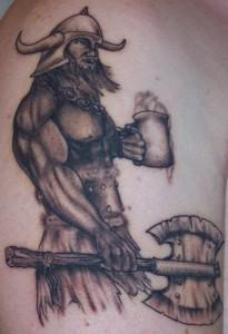 Viking Tribal tattoo Images