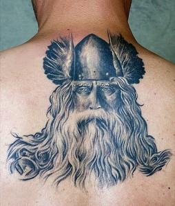 Viking Warrior Tribal Tattoos