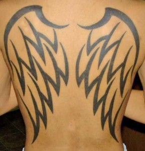 Wings Tribal Tattoo