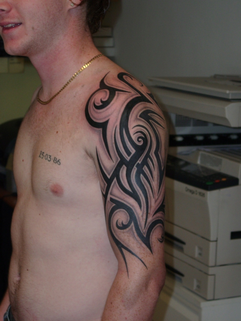 Tribal Tattoo For Arm: 20 Beautiful Tribal Sleeve Tattoos