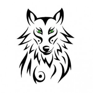 Tattoo Tribal Wolf