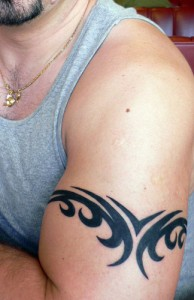 Tribal Arm Band Tattoo