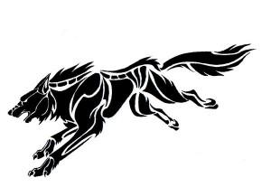 Tribal Tattoos Wolf
