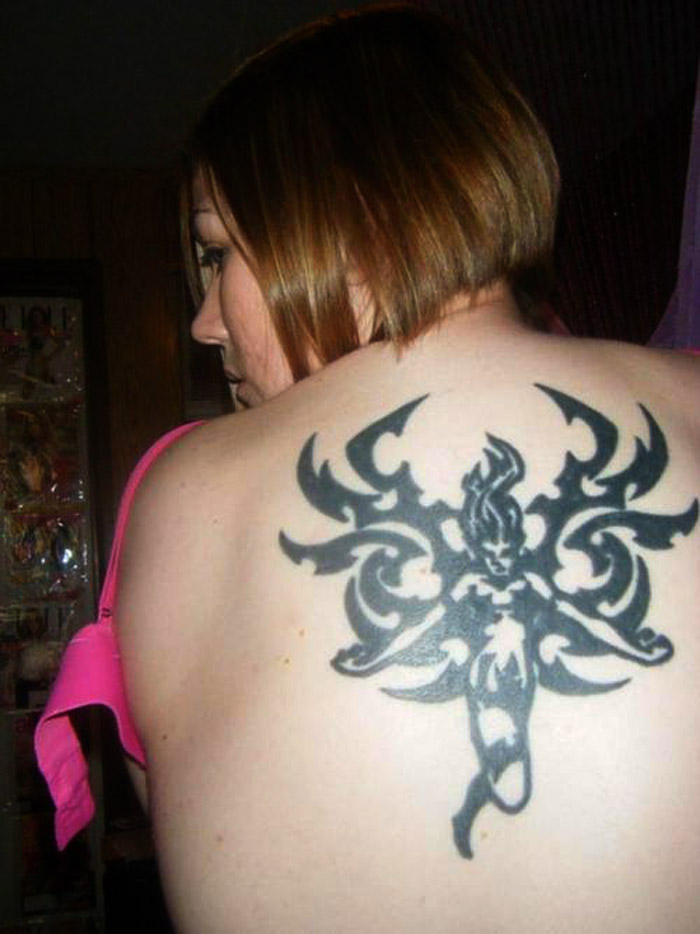 18 cool tribal tattoos for women only tribal for Images of tribal tattoos