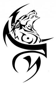 Wolf Tattoos Tribal