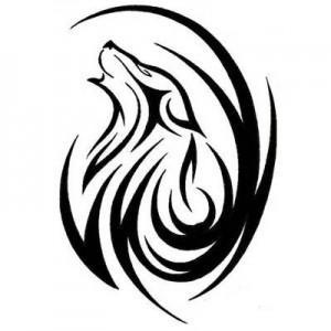 Wolf Tribal Tattoos