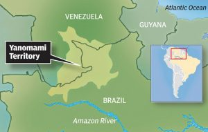 Yanomami Tribe Location