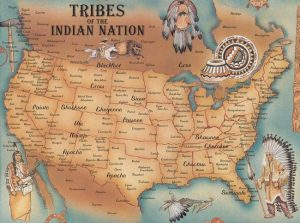 Blackfoot Tribe Map