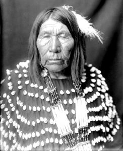 Blackfoot Tribe Woman