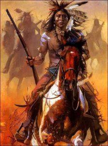 Cheyenne Indians Warriors