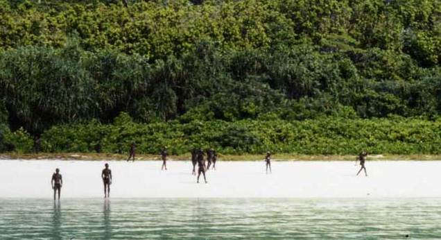 North Sentinel Island Woman