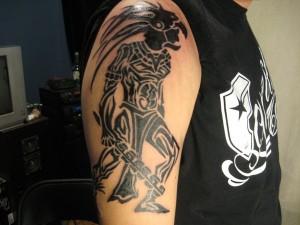 Aztec Warrior Tribal Tattoos