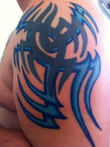 Colorful Tribal Tattoos for Men