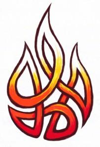 Fire Tribal Tattoos