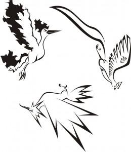 Legendary Pokemon Tribal Tattoo