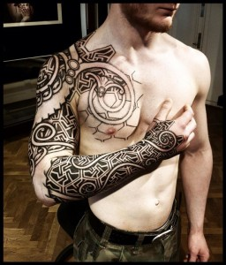 Norse Tribal Tattoos