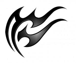 Tribal Aquarius Tattoo Designs