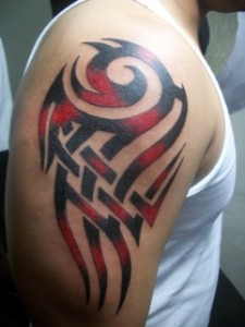 Tribal Color Tattoos