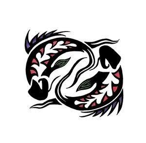 Tribal Pisces Tattoo