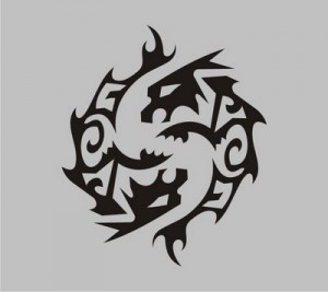 Tribal Pisces Tattoos