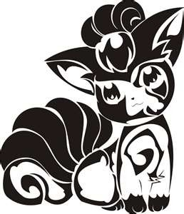 Tribal Pokemon Tattoo Designs