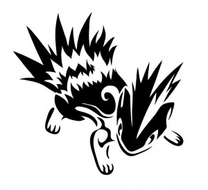 Tribal Pokemon Tattoo