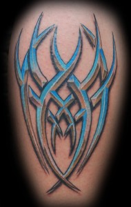 Tribal Tattoo with Color