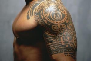 Tribal Warrior Tattoo