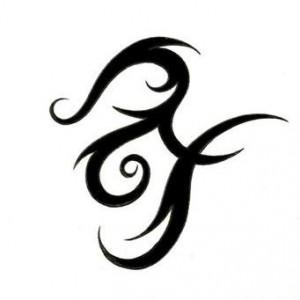 Tribal Zodiac Tattoos Pisces
