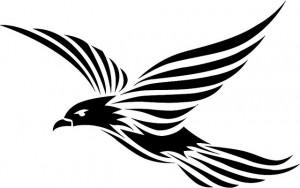 Bird Tribal Tattoos