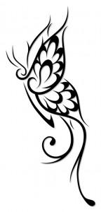 Butterflies Tribal Tattoos