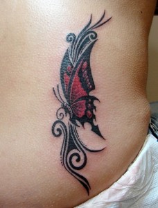 Butterfly Tattoos Tribal