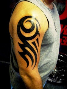 Easy Tribal Tattoos for Arms
