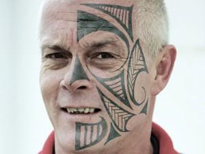 Face Tribal Tattoos