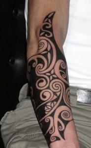 Forearm Tribal Tattoos