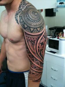 Full Sleeve Tribal Tattoos