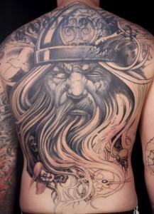 German Tribal Tattoo